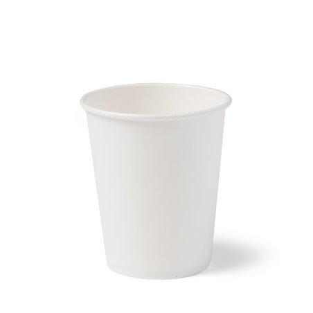 Coffee To go Paper Cup white 150cc - 6oz (Small package) - Horecavoordeel.com