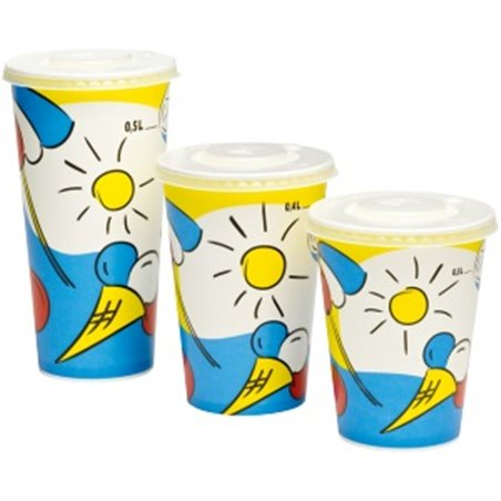 Milkshake Bekers 300ml Karton Sunny Horecavoordeel.com