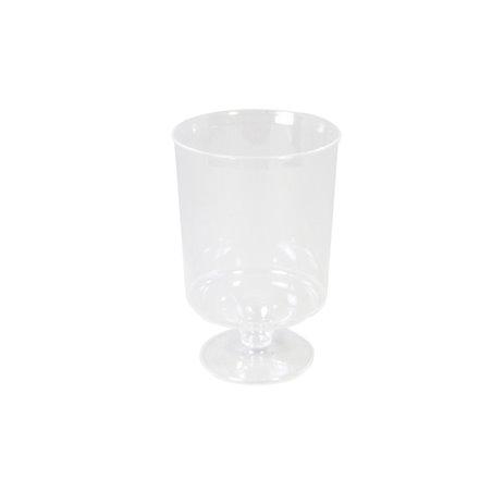 Wijnglazen Op Voet Plastic 150cc Transparant Horecavoordeel.com