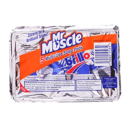 Pannenspons Mr Muscle Brillo Horecavoordeel.com
