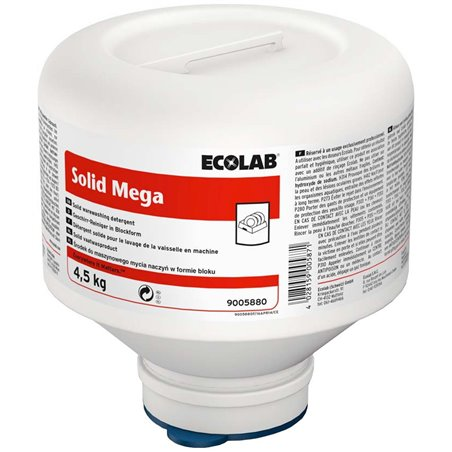 Vaatwasmiddel Ecolab Solid Mega (Klein-verpakking) Horecavoordeel.com