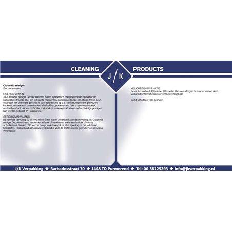 Citronella Geconcentreerd (EM) (Klein-verpakking) Horecavoordeel.com
