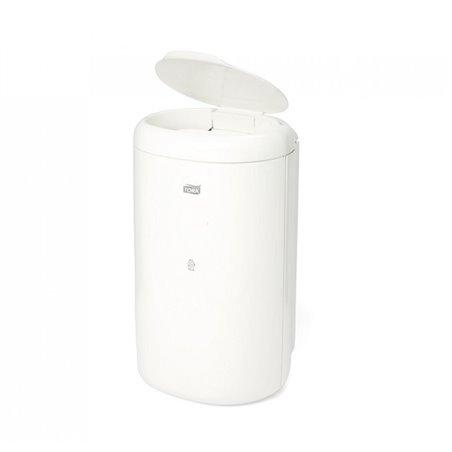 Afvalbak Tork 5 Liter Met Deksel Wit Horecavoordeel.com