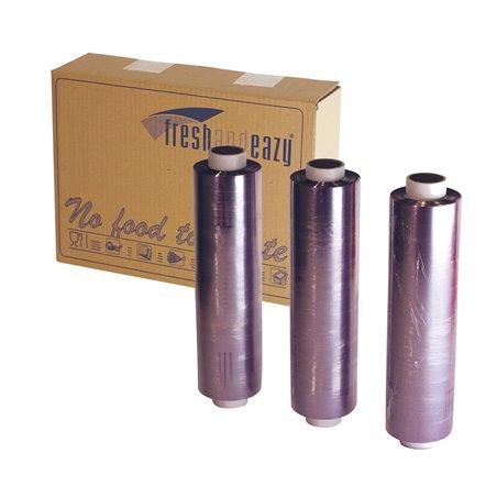 Catering- Cling Folie PVC Geperforeerd Navulling 300 x 300mm x 500 meter Horecavoordeel.com
