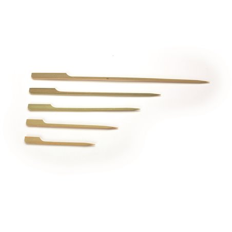 Bamboe Vlagprikkers Pin Roeispaantje 150mm (Klein-verpakking) Horecavoordeel.com