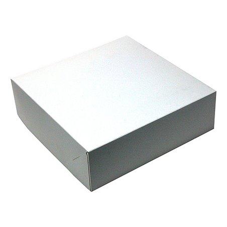 Gebaksdozen Karton Wit 250 x 250 x 80mm Horecavoordeel.com
