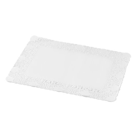 Taartranden Cellulose Wit Rechthoek 300 x 400mm Horecavoordeel.com