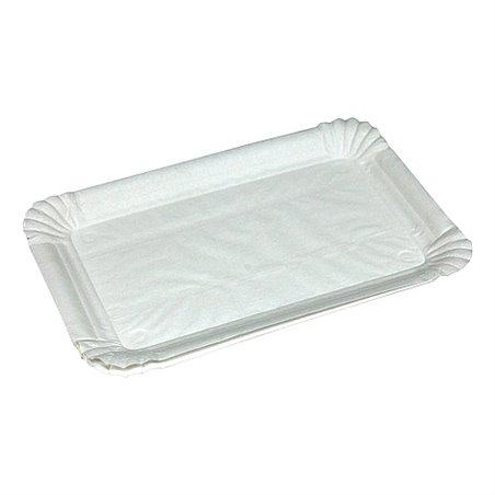 Vleeswarenschaaltjes Karton Wit Gevoerd 130 x 200mm Horecavoordeel.com