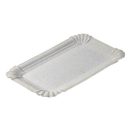Vleeswarenschaaltjes Karton Wit Ongevoerd 120 x 180mm Horecavoordeel.com