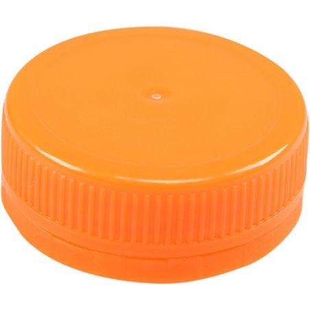 Doppen Oranje voor Pet Flessen Ø 38mm (Klein-verpakking) Horecavoordeel.com
