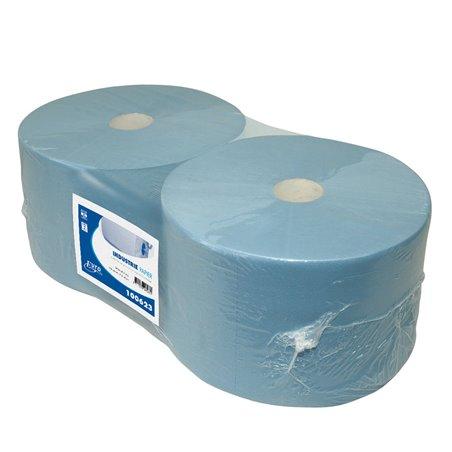 Poetspapier Euro Cellulose 3 Laags Blauw Horecavoordeel.com