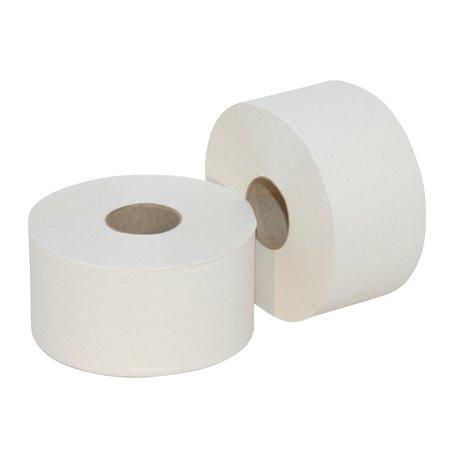 Toiletpapier Mini Jumbo Robaline 2 Laags Horecavoordeel.com