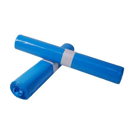 Afvalzakken 700 x 1100mm T70 Blauw (Klein-verpakking) Horecavoordeel.com