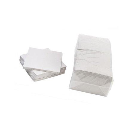 Servetten Wit 1 Laags Cellulose 330 x 330mm Horecavoordeel.com