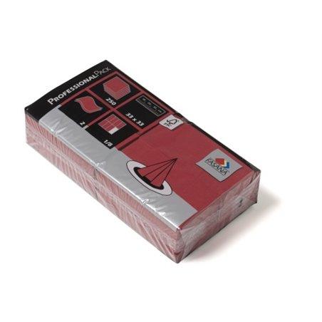 Servetten Bordeaux 2 Laags 1/8 Vouw 330 x 330mm Horecavoordeel.com