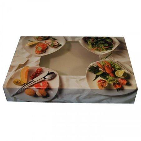 Catering Dozen Quattro Bianco 350mm Horecavoordeel.com