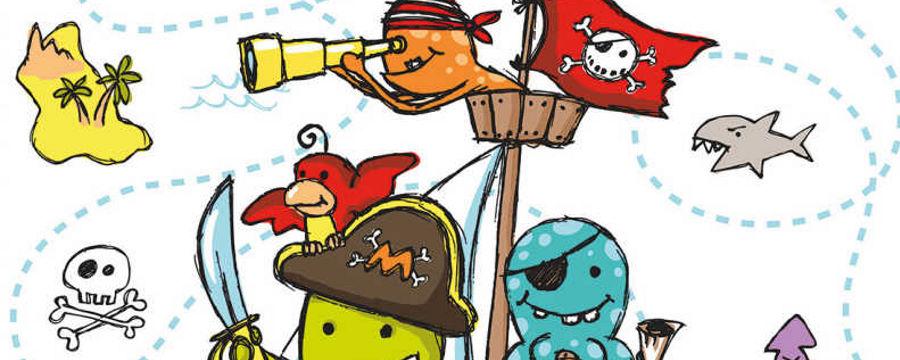 """""""Piraten"""" Thema -Horecavoordeel.com-"""